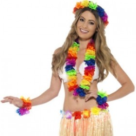 SET HAWAIANA MULTICOLOR