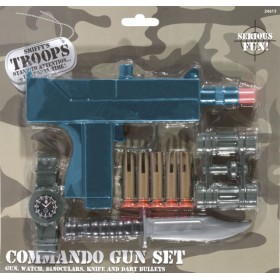 COMMANDO SET GUN KNIFE...