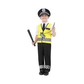 POLICE BOY TOP TROUSERS HAT...