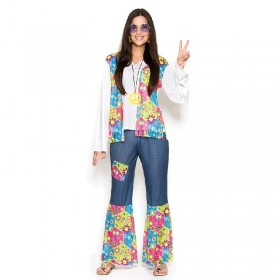Disfraz Hippie Pacifista...