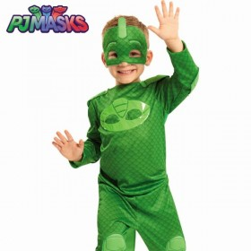TRANSFORMATE EN PJ MASKS VERDE